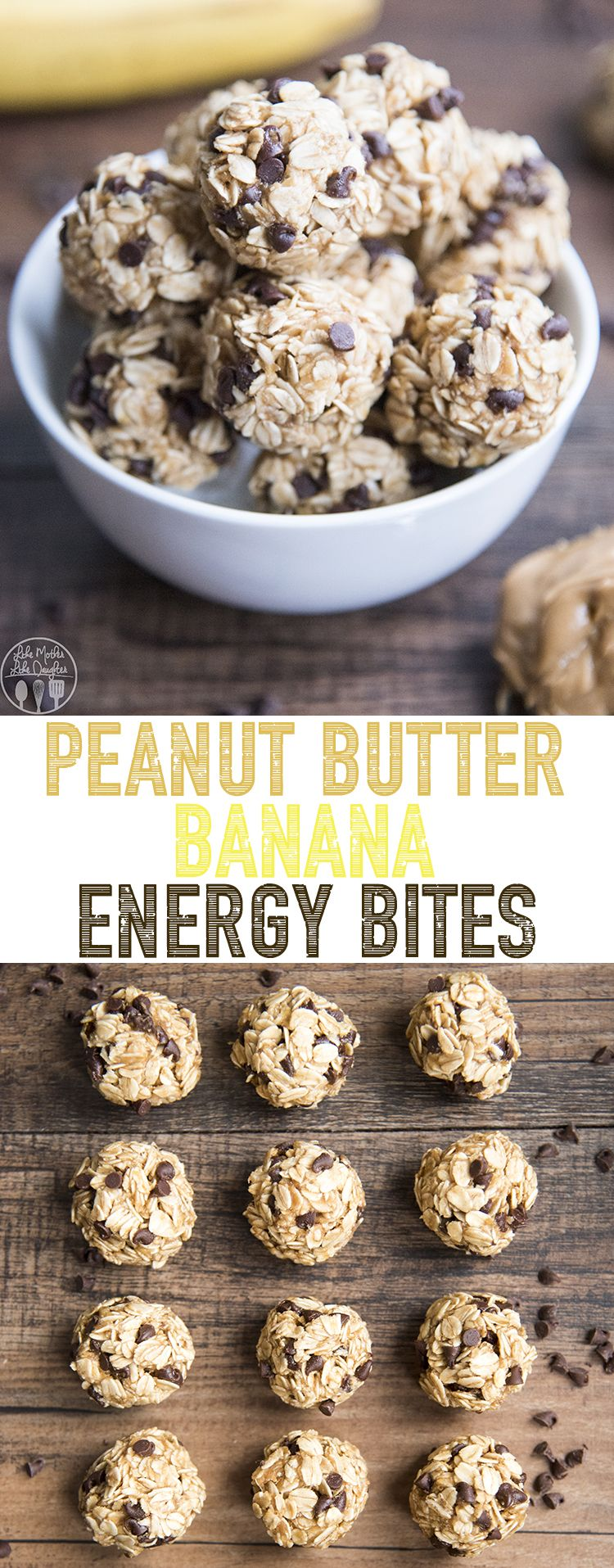 Peanut Butter Banana Energy Bites