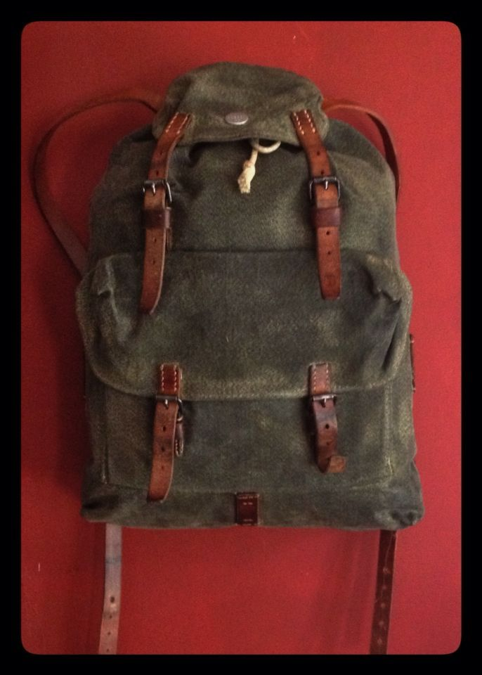 Vintage Swiss Army Patrol Pack | Pinterest