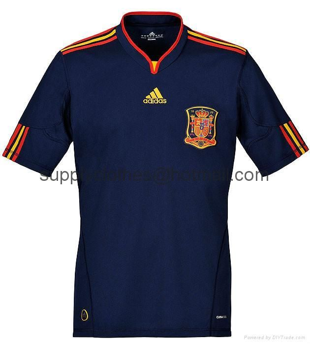 playera de la seleccion española azul  160e0ccba