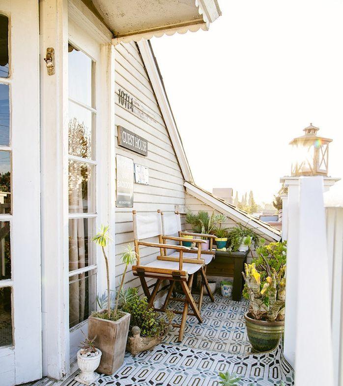 ▷ 1001 + astuces et idées géniales pour votre déco balcon cocooning