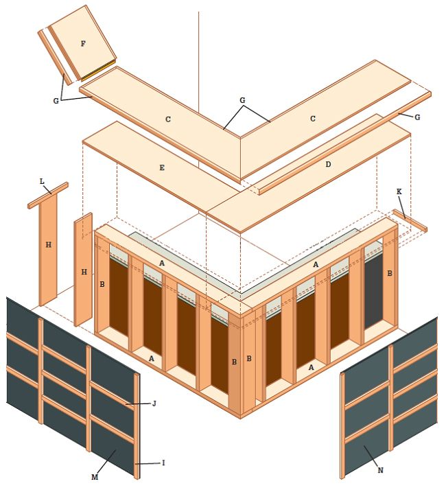 How to build a dry bar in your basement diy furniture for Basement bar dimensions plans