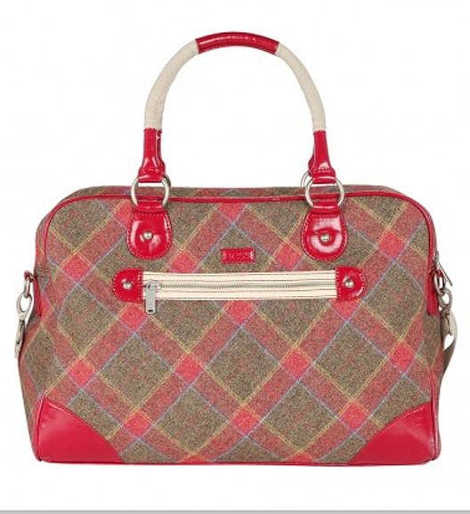 Tartan Weekender Bag From Ness Is My New Favorite In Scotland Picked This Beauty Up On Last Trip