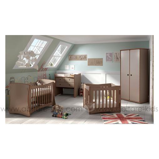 Chambre DAVID de la marque belge Mathy by Bols. Le lit se monte en ...