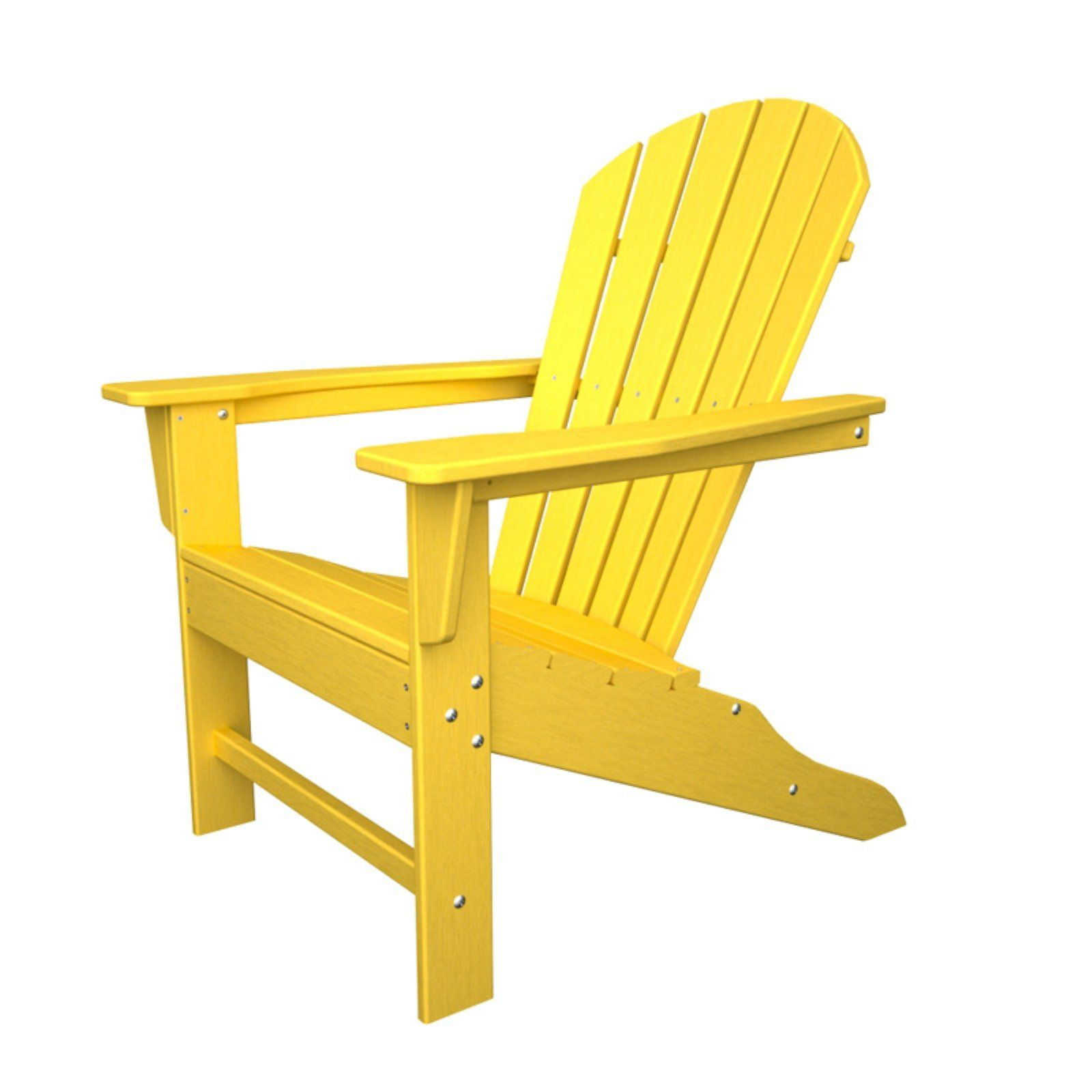 Outdoor Polywooda South Beach Recycled Plastic Adirondack Chair