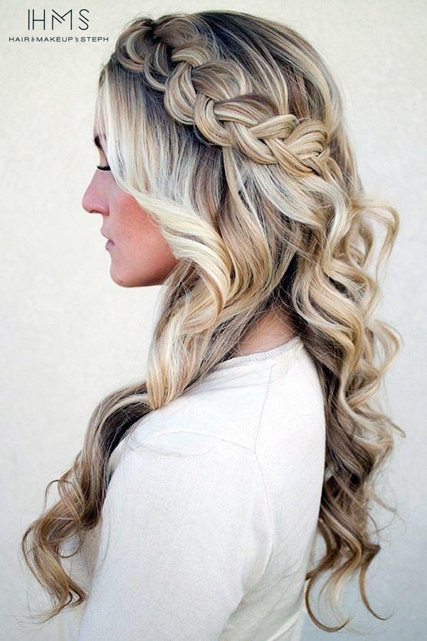 Easy Hairstyles For Long Thick Hair 29 Jpg 600 900 Pixeles Peinados Elegantes Peinados Con Trenzas Peinado Suelto