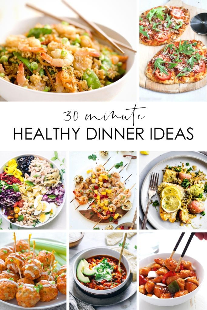 30 Minute Healthy Dinner Ideas images