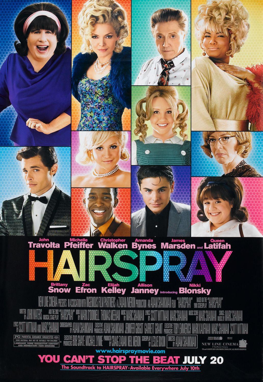 Hairspray (2007) | Movies in 2019 | Hairspray movie, Movie ...