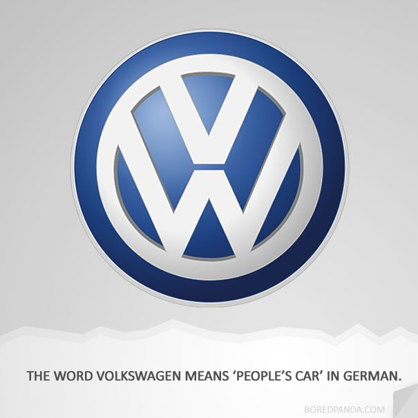 How Famous Companies Got Their Names With Images Volkswagen Volkswagen Logo Logo Design Vw resmi websitesi için tıklayın. pinterest