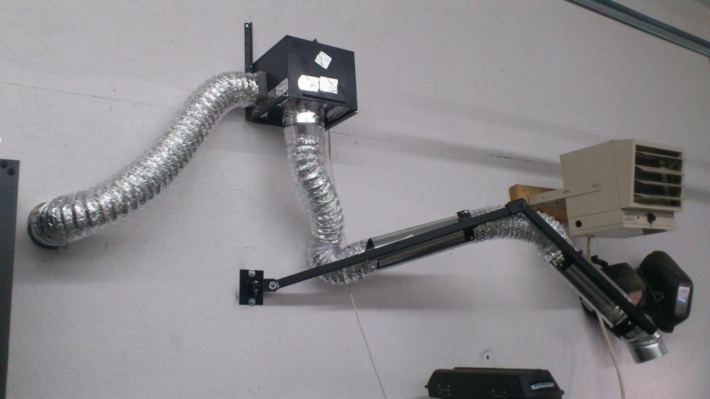 Diy weld fumes extractor the garage journal board