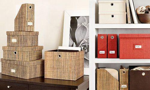 Decorative File Bo For Stylish Office Storage