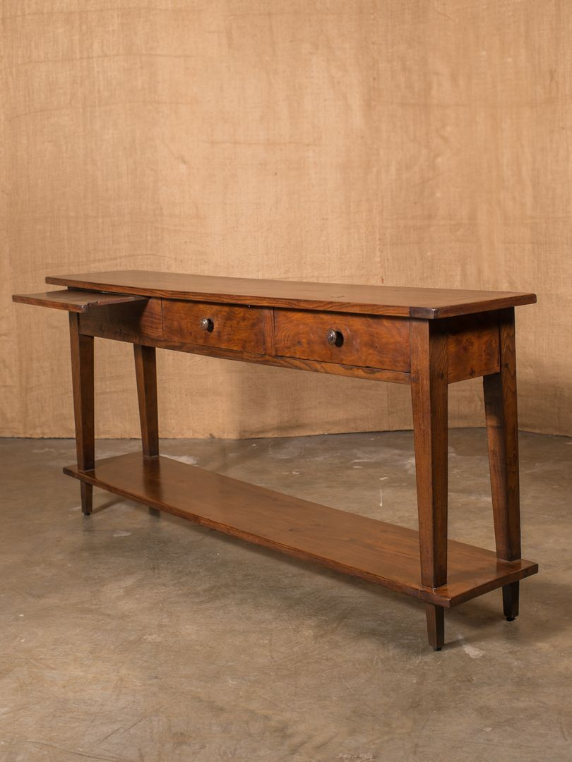 Rustic French Country Sofa Table