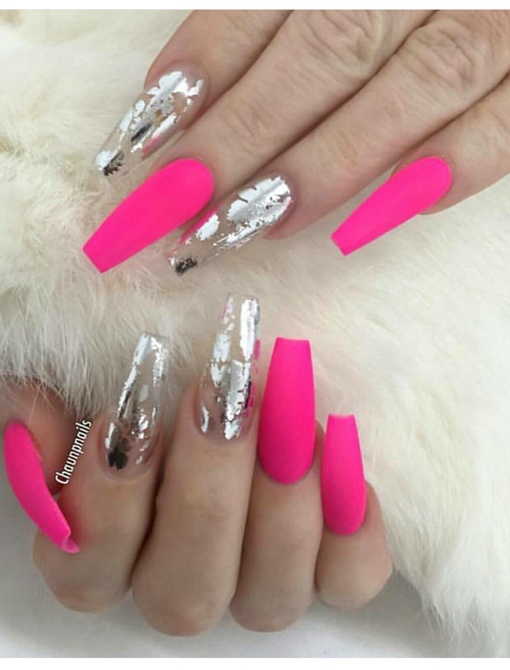 35 Pretty Pink Nail Art Designs You Must Try Art Designs Hairproducts Nail Nailideas Natura In 2020 Pink Nail Art Designs Cute Pink Nails Bright Pink Nails