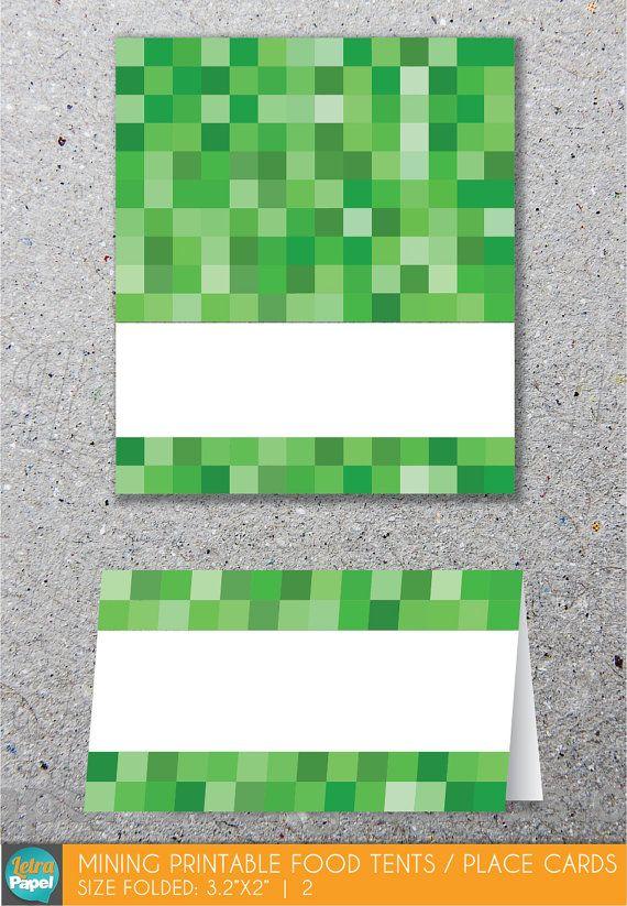 Minecraft Printable Food Signs | officesetupus