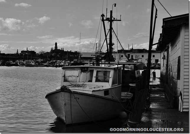 Black and White Series- Lobster Boat Ayn