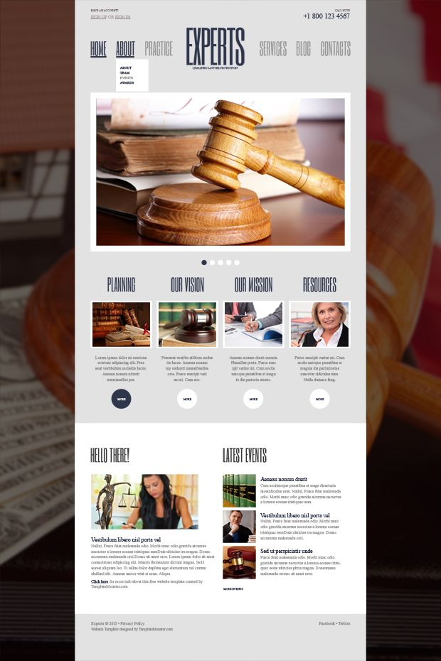 Your Weighty Utterance Online - Free WordPress Law Firm Theme ...