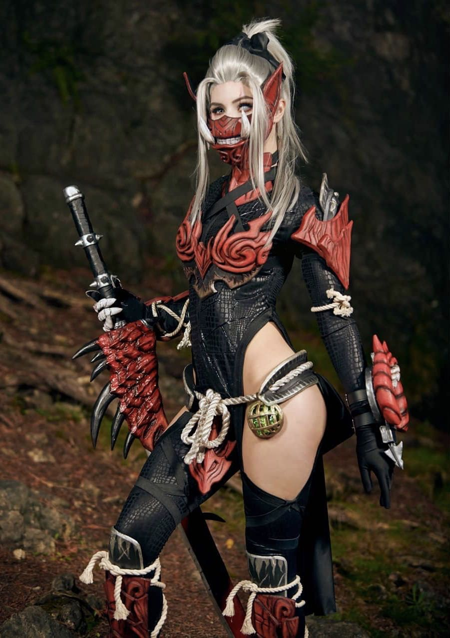 Odogaron Armor By Luxlocosplay Monster Hunter Cosplay Female