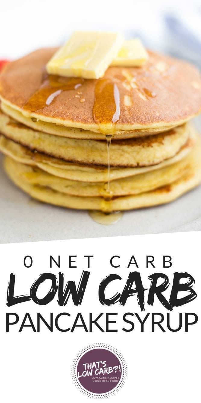 Low Carb Keto Pancake Syrup | Low Carb Recipes by That's Low Carb?!
