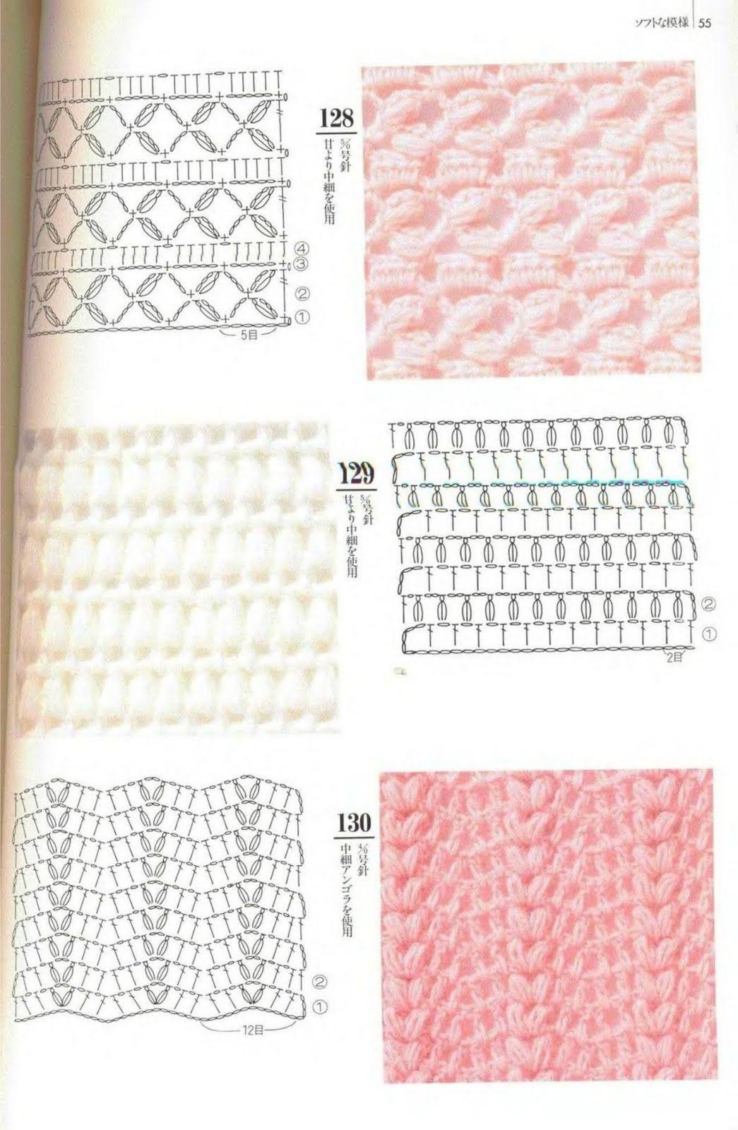 SOLO PUNTOS: Crochet Zigzag | crochet patrones | Pinterest ...
