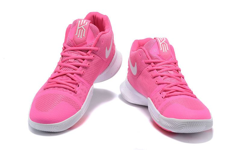 low priced 25e91 4f785 Free Shipping Only 69  Kyrie Irving 3 III Third Think Pink Pink Flash White
