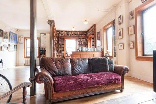 reading nook in a loft
