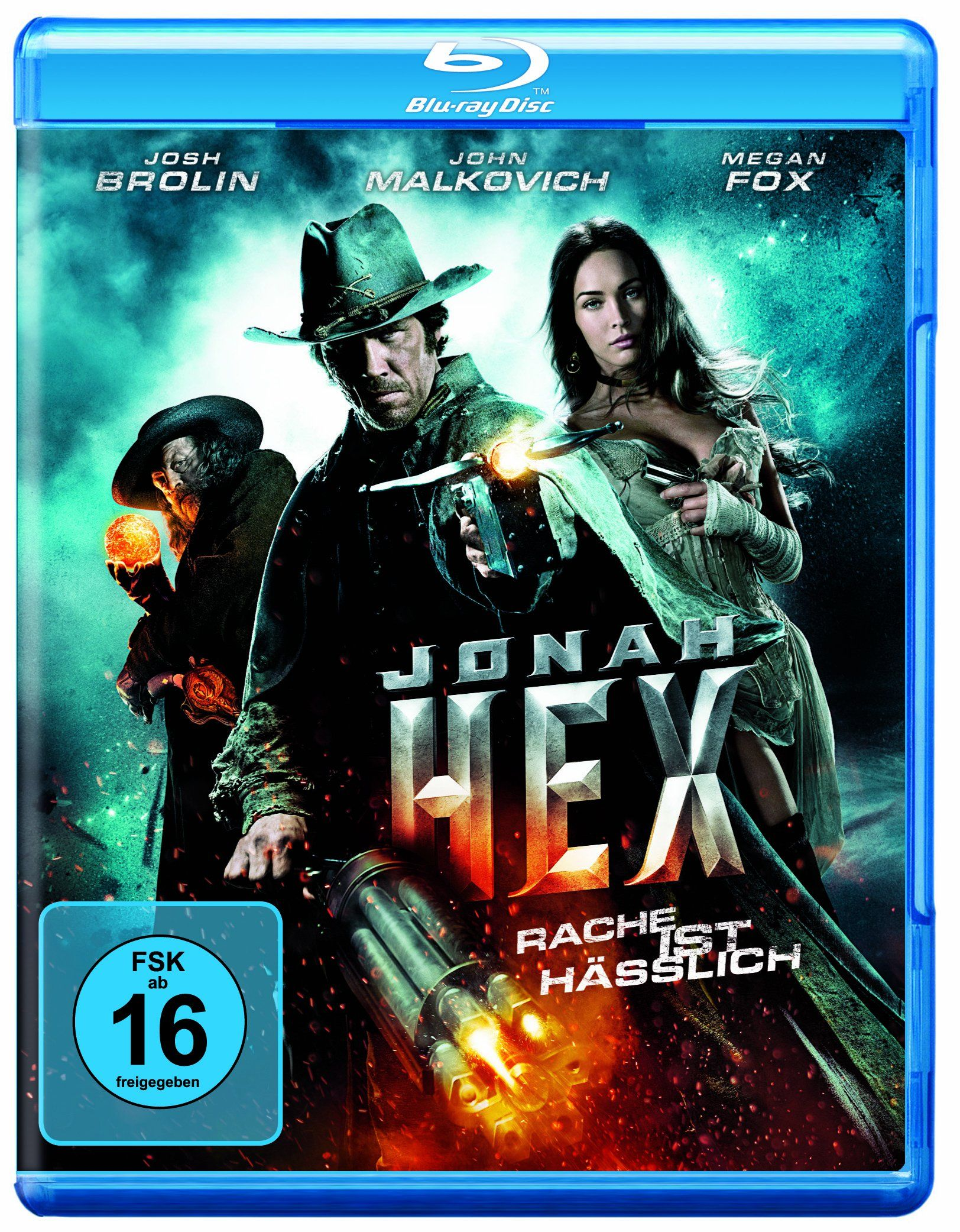 Jonah Hex Inkl Digital Copy Alemania Blu Ray Inkl Digital Jonah Hex Beruhmte Comics John Malkovich Kopfgeldjager