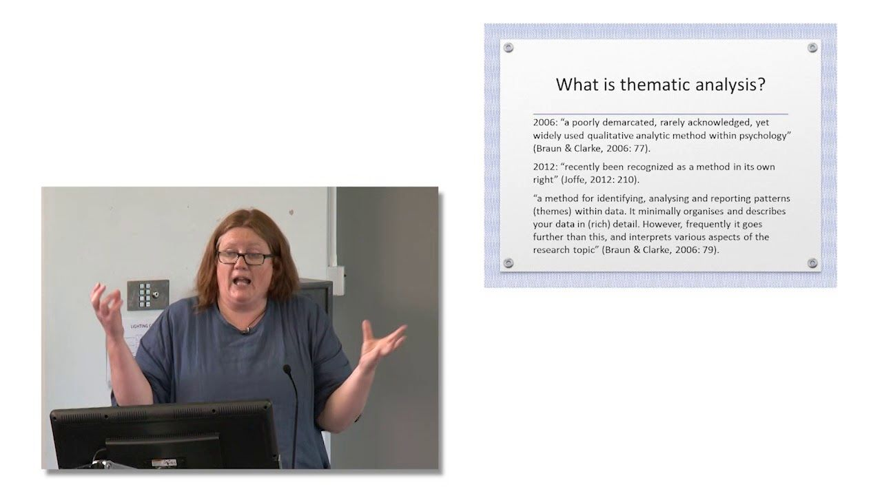 Braun Og Clarke Thematic Analysis An Introduction Thematic
