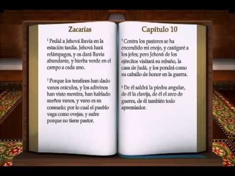 "LA BIBLIA "" ZACARIAS "" COMPLETO REINA VALERA ANTIGUO TESTAMENTO - YouTube"