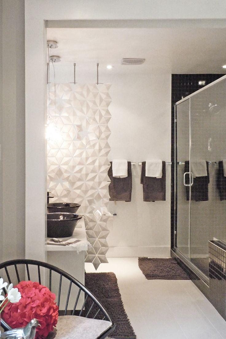 Playful Bathroom Divider For A Modern Bathroom Divider Divider - Bathroom divider panels