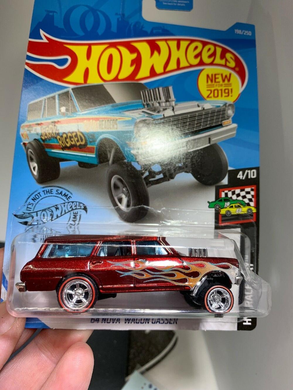 HOT WHEELS 2019 HW RACE DAY '64 NOVA WAGON GASSER Custom
