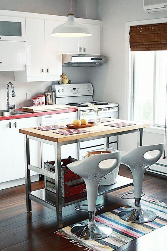 diseño pequeña cocina isla | cocinas islas pequeñas | Pinterest