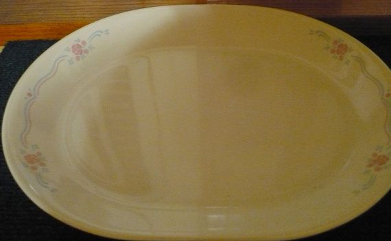 Corelle  English Breakfast  Serving Platter  by pittsburgh4pillows