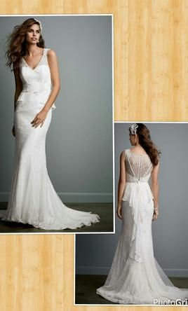 Galina KP3623: buy this dress for a fraction of the salon price on PreOwnedWeddingDresses.com