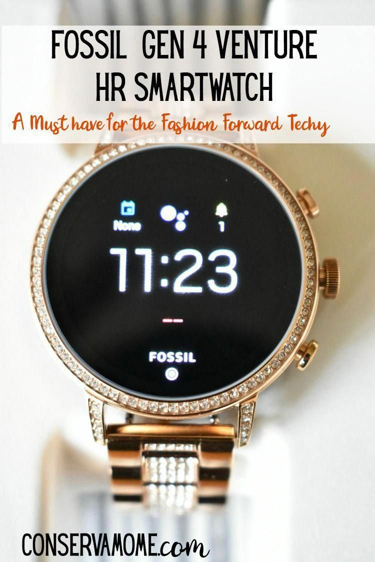 Check out why the Fossil Gen 4 Venture HR Smartwatch is A