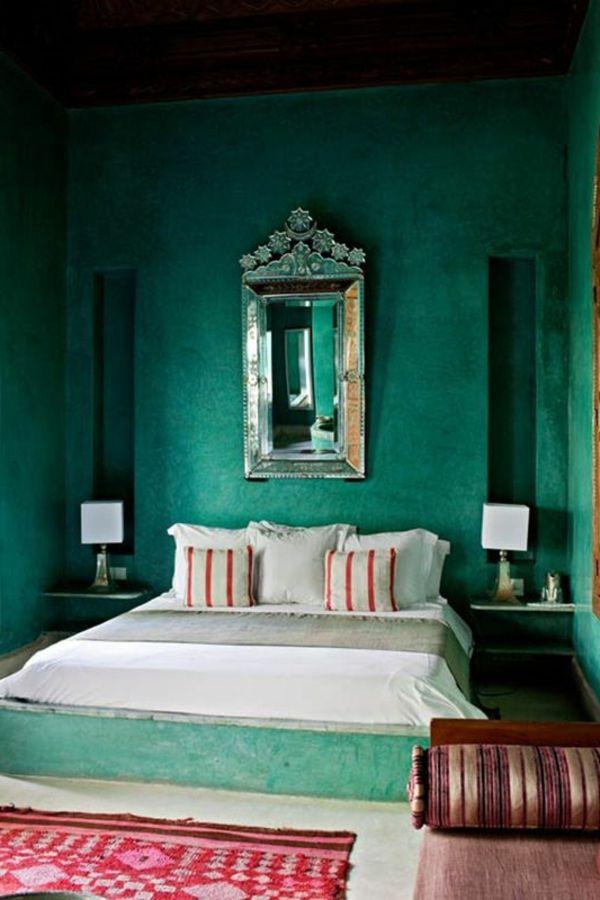 In Diesem Beitrag Zeigen Wir Ihnen 55 Unglaubliche Beispiele Für Grüne  Wandgestaltung Im Schlafzimmer. Genießen Sie Die Originellen Und Kreativen  Bilder!