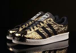 All Hard Gold & Deep Black,Adidas Superstar