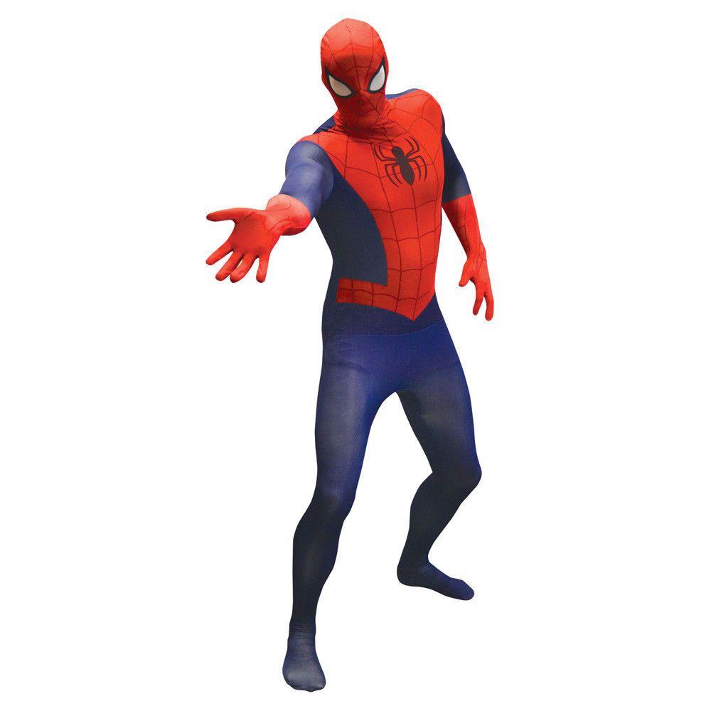 Details About Morphsuit Marvel Superhero Costume Deadpool Spiderman