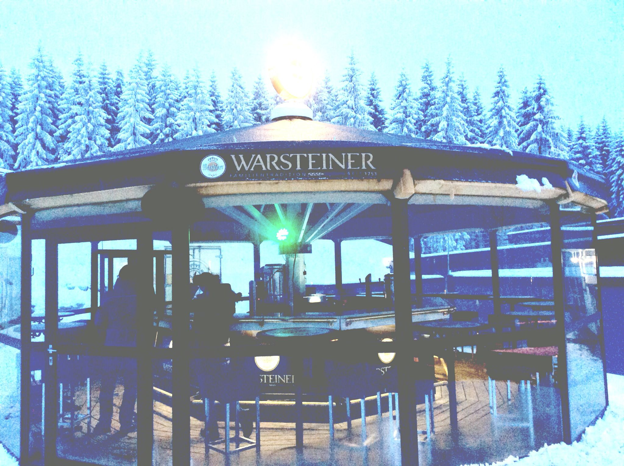 #Apres Ski am #Hexenritt #Wurmberg im #Harz