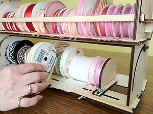 Ribbon Storage Rack Organizer Holder - 80+ spools | eBay & Ribbon Storage Rack Organizer Holder - 80+ spools | Pinterest ...