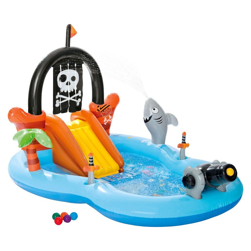 """Intex 97"""" x 76"""" x 59"""" Pirate Play Center Inflatable Pool"""