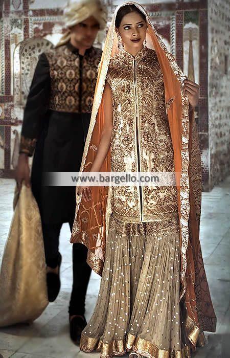 ba8eb069de Asian Wedding Gharara Dresses Designer Gharara Floral Park New York NY USA