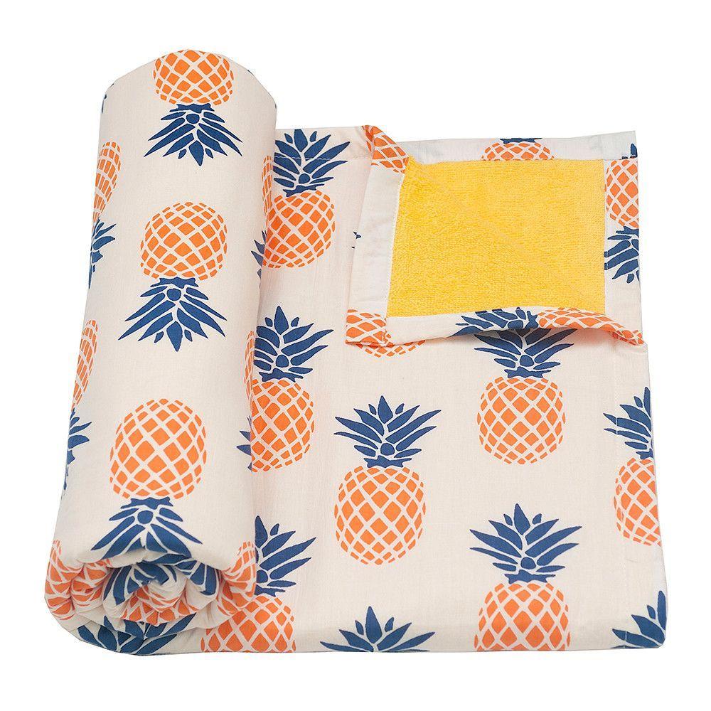 Pineapple Beach Towel | Pineapple! | Pinterest | Flamenco, Anatomía ...