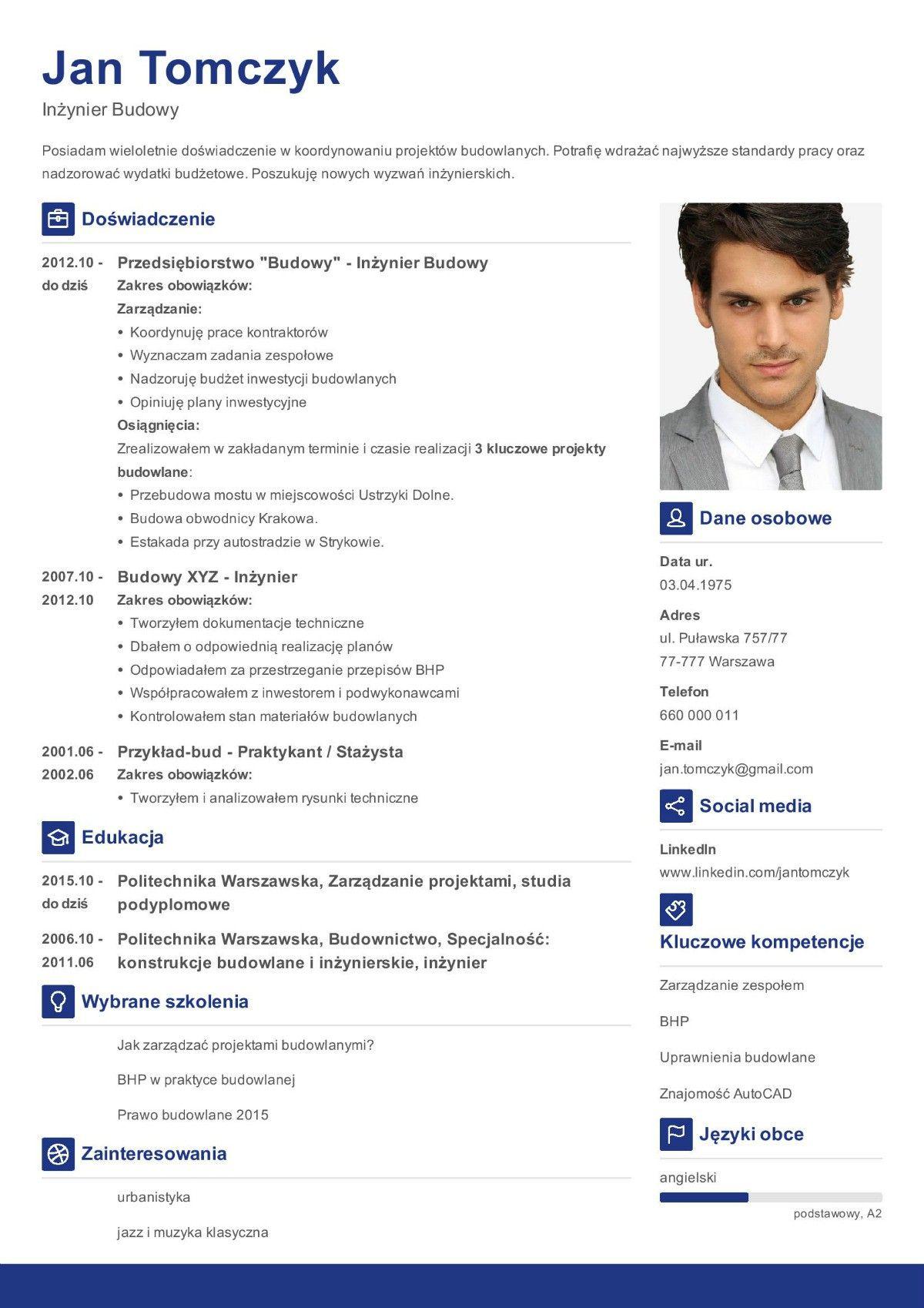 Znalezione Obrazy Dla Zapytania Jak Napisac Cv Curriculum Vitae Curriculum List