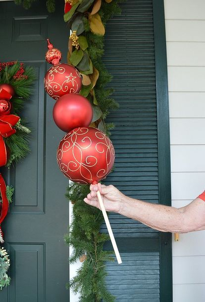 Easy Cheap Outdoor Christmas Decorations DIY