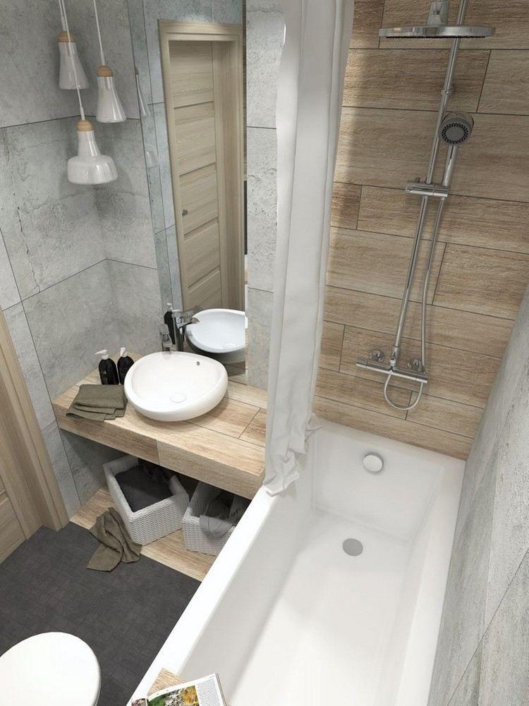 Salle de bains orange: 54 modèles audacieux