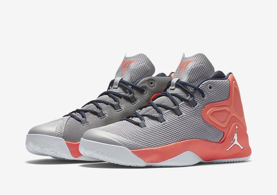 Grey And Orange Cover This Jordan Melo M12 • KicksOnFire.com