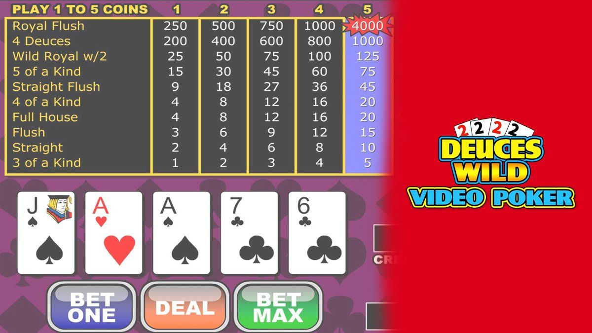 How to Get Started With Deuces Wild Video Poker in 2020