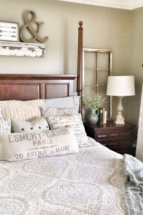 Farmhouse Bedroom Decor Ideas The Research Study Of The Comfortable Room Pole Iron Bed St Farmhouse Bedroom Decor Bedroom Decor Inspiration Bedroom Makeover