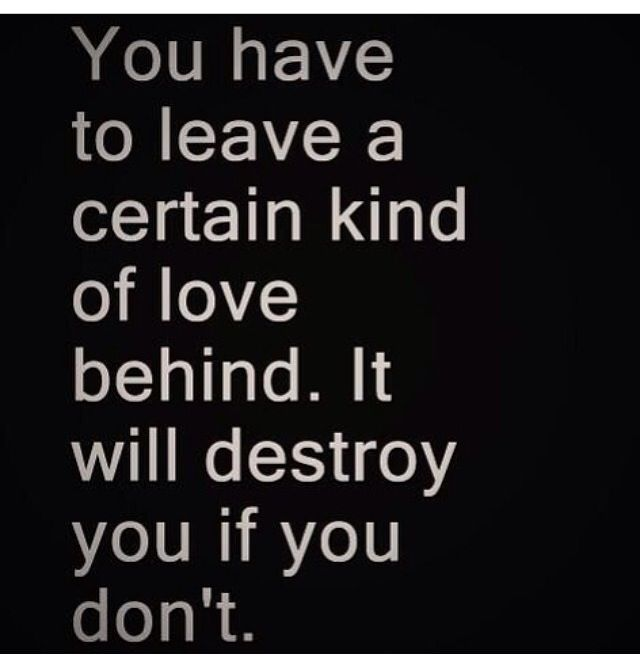 Love Can Destroy You Learn To Move On From Destructive