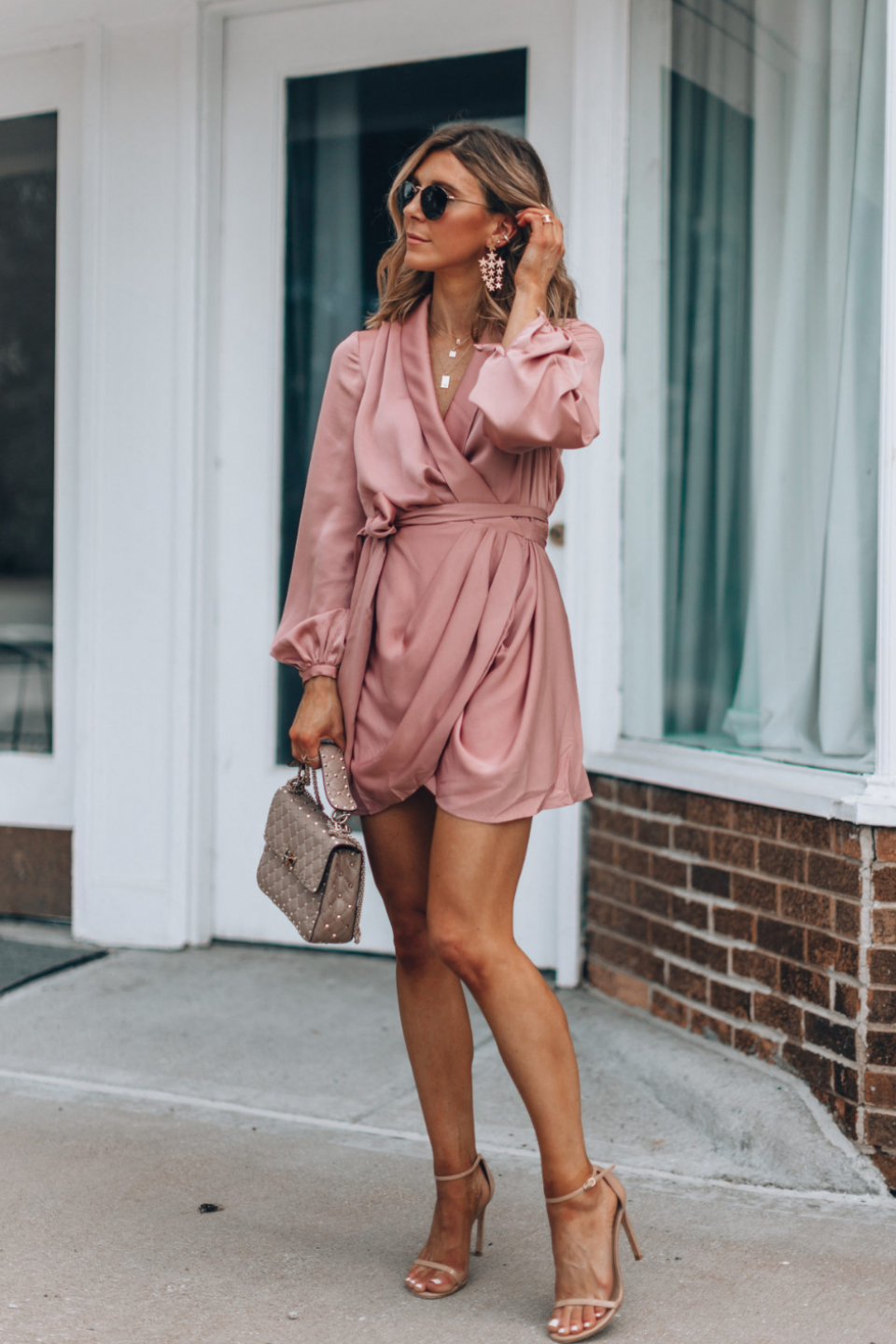 Fall Wedding Guest Dresses For Every Budget Wedding Guest Dress Long Simple Wedding Guest Maxi Dress With Sleeves Fall Wedding Guest Dress Guest Dresses [ 4048 x 2640 Pixel ]