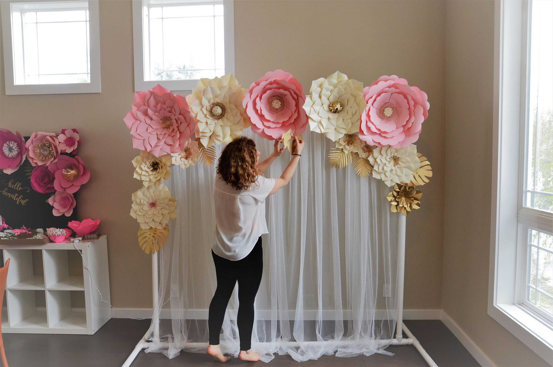 Giant Paper Flowers Set By Seattlegiantflowers On